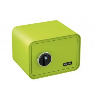 OLYMPIA Tresor GO Safe 100 mit Fingerprint apfelgrün