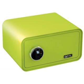 OLYMPIA Tresor GO Safe 200 mit Fingerprint apfelgrün