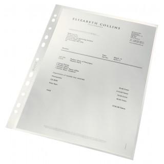 LEITZ re:cycle Prospekthüllen 4791 100 Stück DIN A4 transparent