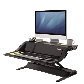 FELLOWES Sitz-Steh Workstation Lotus™ DX schwarz