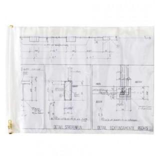 Planschutzhülle 10 Stück DIN A0 transparent