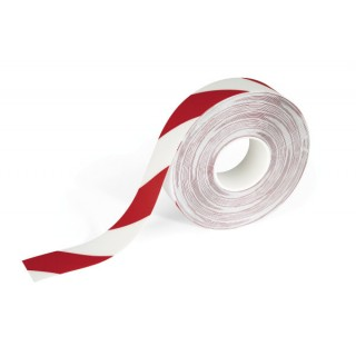 DURABLE Bodenmarkierungsband DURALINE® Strong 2 Colour 1726 5cm x 30 m rot/weiß