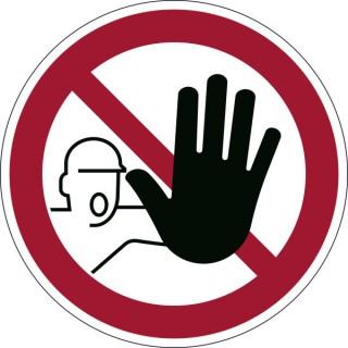 DURABLE Sicherheitskennzeichen 1730 Zutritt verboten rot