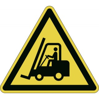 DURABLE Sicherheitskennzeichen 1734 Warnung vor Flurförderzeugen gelb
