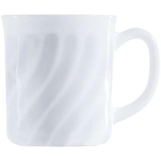 Kaffeebecher Trianon mit Henkel 290 ml weiß