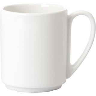 Kaffeebecher Fantastic mit Henkel 300 ml weiß
