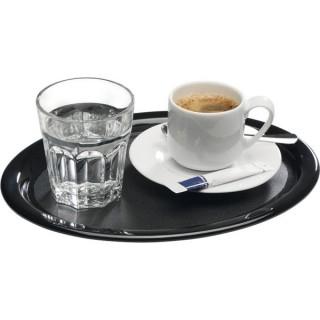 Serviertablett Kaffeehaus 285 x 15 mm schwarz