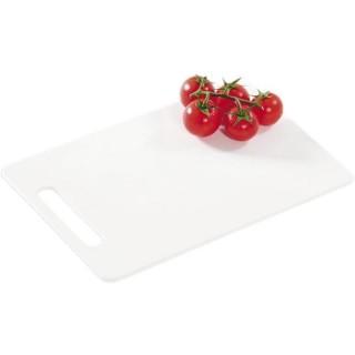 Schneidbrett Kunststoff 150 x 240 mm weiß