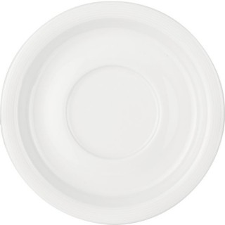 Untertasse Rey Ø 155 mm weiß
