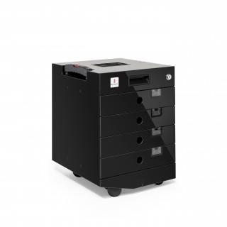 MORESY Standardmodul MS4 mit 4 Schubladen schwarz