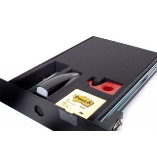 MORESY Schaumstoffeinlage MST4 für Schubladen schwarz