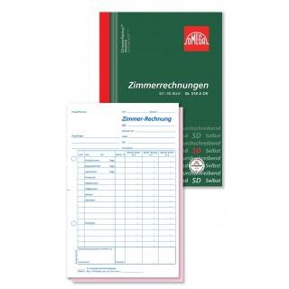 OMEGA Zimmerrechnung 518A OK DIN A5 2x50 Blatt selbstdurchschreibend