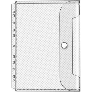 VELOFLEX Dokumentenhülle 5342100 10 Stück DIN A4 transparent
