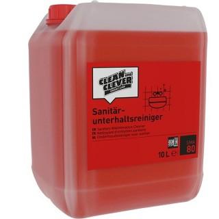 CLEAN & CLEVER Sanitärreiniger SMA80 10 Liter