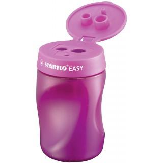 STABILO Dosenspitzer EASYsharpener 3in1 für Rechtshänder pink