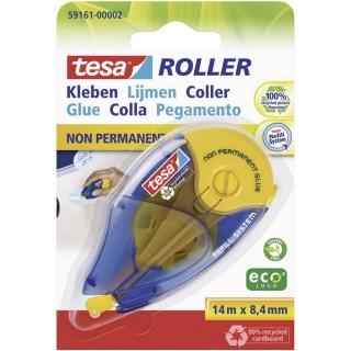 TESA Kleberoller ecoLogo 59161 non permanent 8,4mm x 14m
