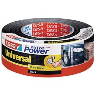 TESA Gewebeband extra Power® Universal 48mm x 50m schwarz