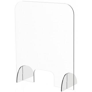 ARISTO Spuckschutz aus Plexiglas hoch/breit 70 x 84,1 x 25 cm transparent