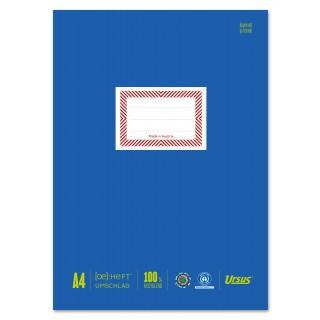 URSUS Heftschoner 10 Stück DIN A4 blau