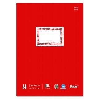 URSUS Heftschoner 10 Stück DIN A4 rot