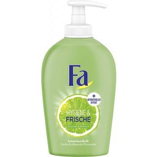 FA Flüssigseife Hygien & Frische Limette im Seifenspender mit antibakterieller Formel 250 ml