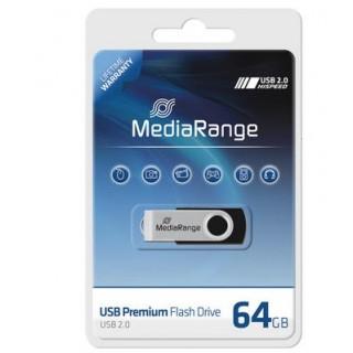 MEDIARANGE USB-Stick 2.0 64 GB schwarz