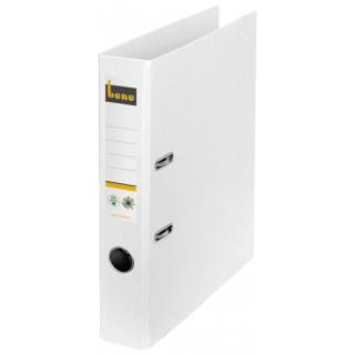 BENE Ordner CO2 neutral 301600 DIN A4 schmal 47 mm weiß