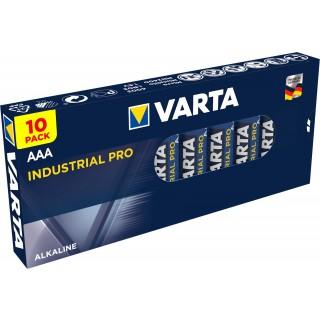 VARTA Batterie Industrial Pro 10 Stück AAA
