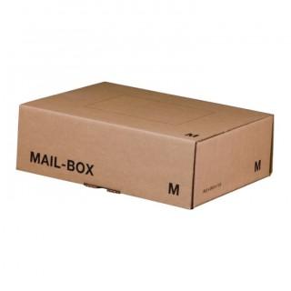 SMARTBOXPRO Versandkarton MailBox M 331 x 104 x 241 mm braun
