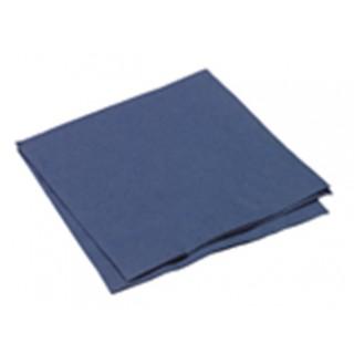 Serviette 250 Stück 1/4-Falz 3-lagig 33 x 33 cm royalblau