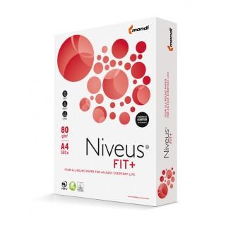 NIVEUS Kopierpapier Fit+ 500 Blatt DIN A4 80g/m² hochweiß