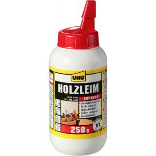 UHU Holzleim express 48585 250 g weiß