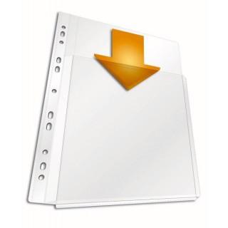 DURABLE Prospekthülle MAXI 266719  5 Stück DIN A4 180 µm transparent