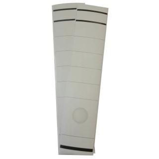 CORONA Ordnerrückenschild 10 Stück breit/lang selbstklebend weiß