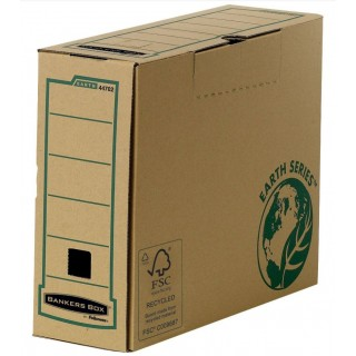 FELLOWES Archivbox Earth Series A4 100 mm braun