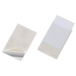 DURABLE Pocketfix 8079 10 Stück 57 x 90 mm selbstklebend transparent
