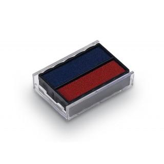 TRODAT Ersatzkissen 6/4850 2 Stück blau/rot