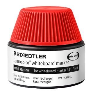 STAEDTLER Nachfülltinte 488 51 für Whiteboardmarker 20 ml rot