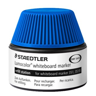 STAEDTLER Nachfülltinte 488 51 für Whiteboardmarker 20 ml blau