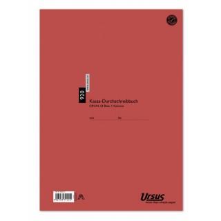 URSUS Kassabuch 920DKB A4 54 Blatt