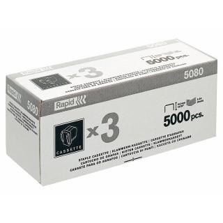 RAPID Heftklammernkassette 5080 3 x 5.000 Stück