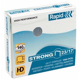 RAPID Heftklammern Strong  1000 Stück 23/14 verzinkt