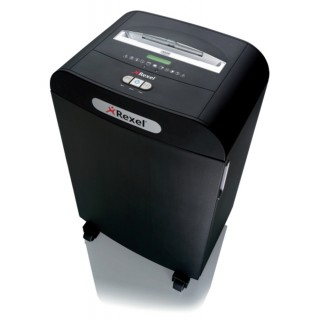 REXEL Aktenvernichter Mercury RDX2070 4 x 45 mm Partikelschnitt schwarz