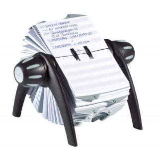 DURABLE Rotationskartei Telindex® Flip Vegas schwarz