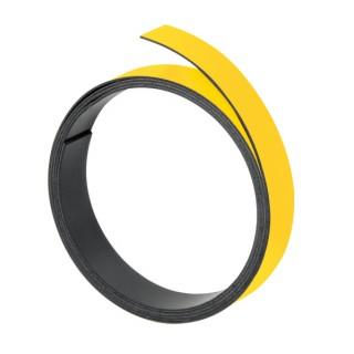 FRANKEN Magnetband 10 mm x 1 m gelb