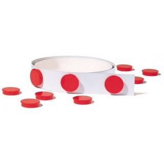 FRANKEN Magnetleiste selbstklebend 3,5 cm x 1 m weiß