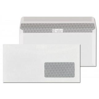 ÖKI Kuvert Classic C6/5 CLA80FAS 1000 Stück DIN C6/5 gummiert mit Fenster rechts 80g/m² weiß