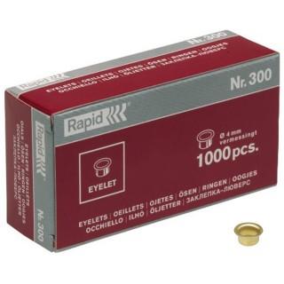 RAPID Ösen Nr. 300 Ø 4 mm 1000 Stück