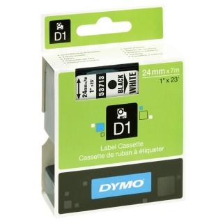 DYMO Schriftband Dymo 53713 D1 24 mm x 7 m weiß