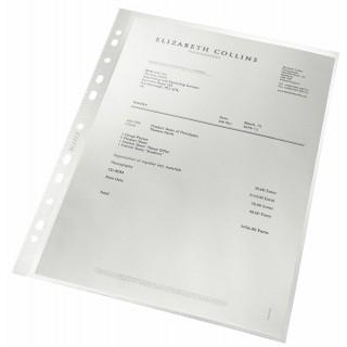 LEITZ Prospekthülle A4 100 Stück transparent